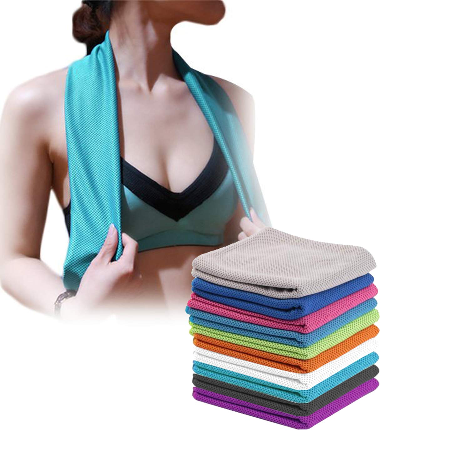 Sukeen 4 Pack Cooling Towel