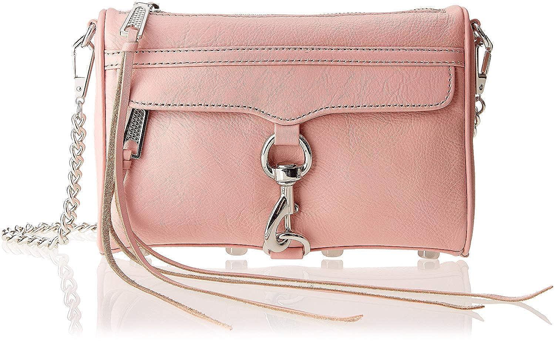 [(レベッカミンコフ) REBECCA MINKOFF] [クロスバック Women Mini Mac Leather Cross-Body Bag Prim Rose] (並行輸入品) B07P2NNH3K One Color One Size