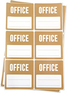"""3/""""x3/"""",10 PK Details about  /Kitchen Labels with Blank Memo Note Home Moving Box Write Stickers"""