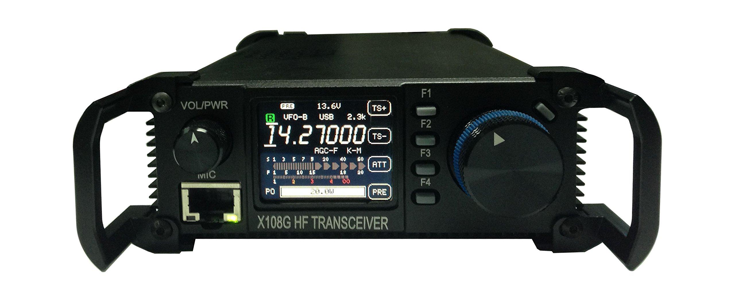 Xiegu X-108G QRP Transceiver Outdoor Version 9 Bands AM/SSB/CW 1-20 watts Black by Xiegu (Image #5)