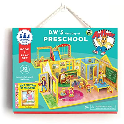 STORYTIME TOYS D.W.'s First Day of Preschool Book and Toy Set, PBS Kids; Take Apart Educational Toys: Toys & Games