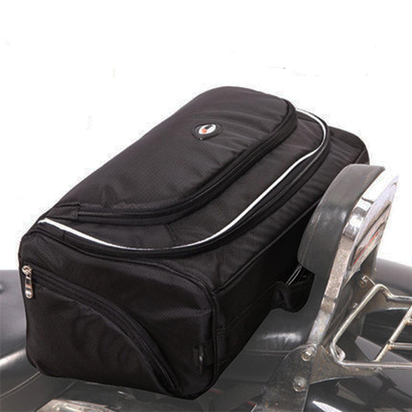 SEEU Sport Motorcycle Tail Seat Bag, Water Resistantent, 53 Liter Large Capacity
