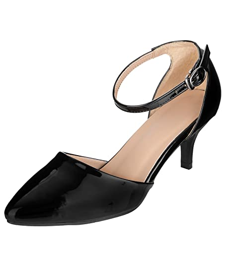 f1a4f2daee5 SHERRIF SHOES Kitten Heels  Buy Online at Low Prices in India ...