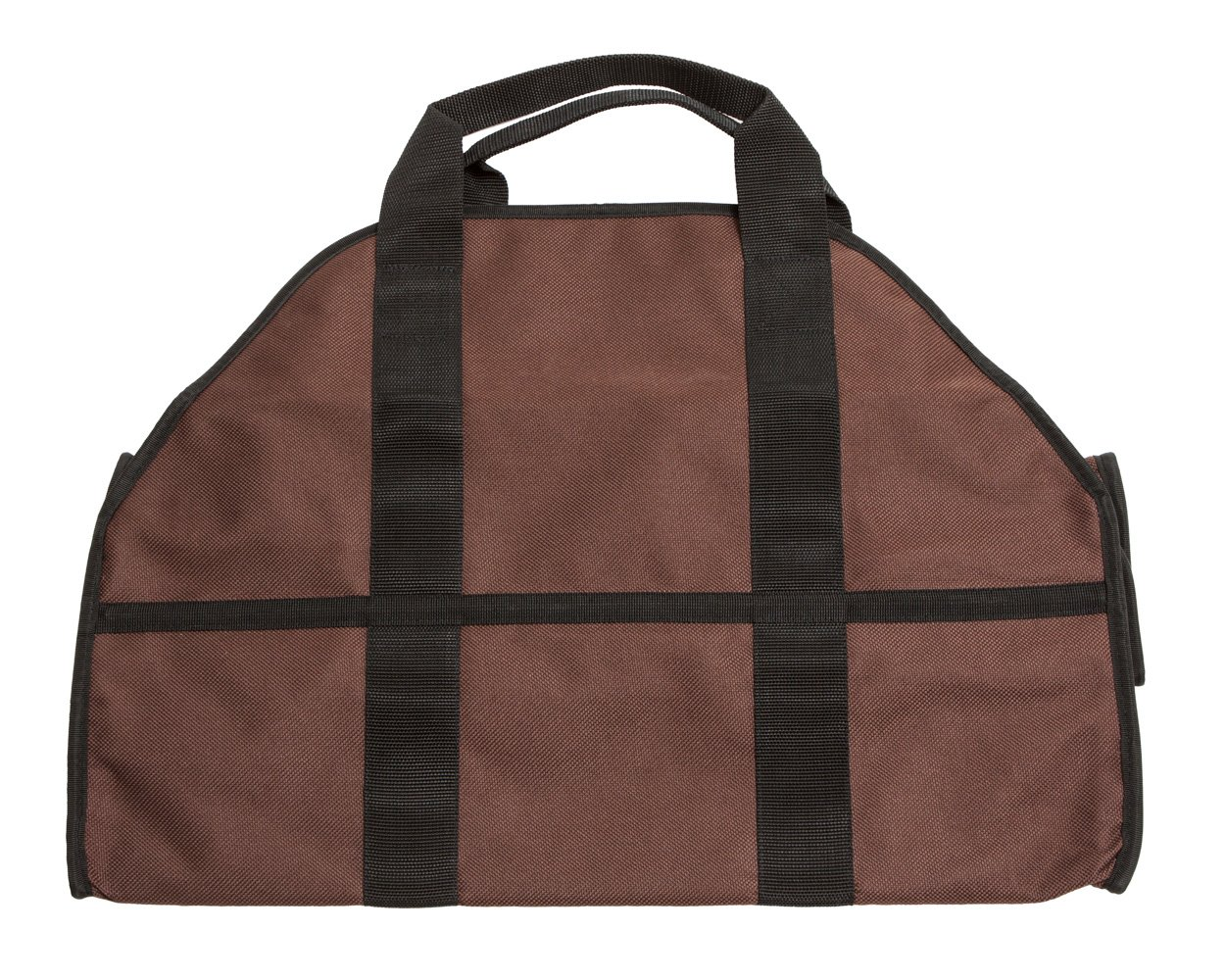 amazoncom premium firewood carrier u0026 log tote by sc lifestyle brown home u0026 kitchen - Firewood Carrier