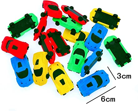 3D Skate Board Shaped Eraser Novelty Fun Rubber Party Bag Pencil Case Filler Toy