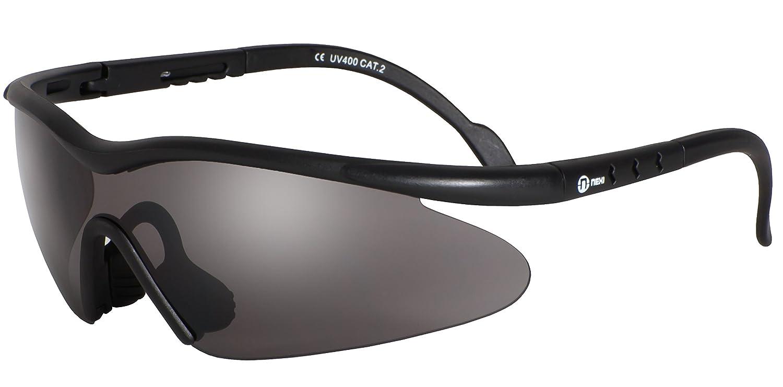 Nexi S-22D Shield Sonnenbrille ideal als Sportbrille oder Fahrradbrille für Herren und Damen xepsmSx4TJ