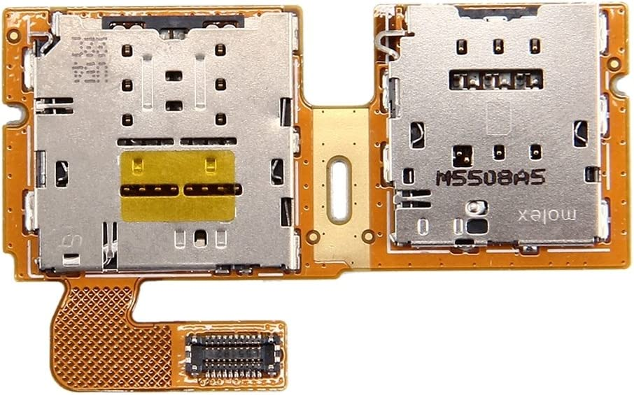T810 SD Card Reader Contact Flex Cable Premium Durable Mobile Communication Accessories Practical Cell Phone Parts Compatible with Samsung Galaxy Tab S2 9.7