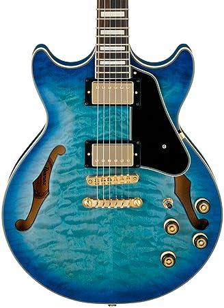 Ibanez Artcore estilo expresionista AM93 Semi-Hollow guitarra ...