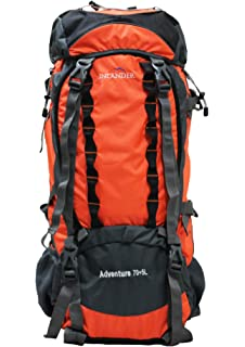 Inlander 70 Ltrs Black Rucksack (A2ZILDC-10009BKBP)  Amazon.in  Bags ... 428add1f03