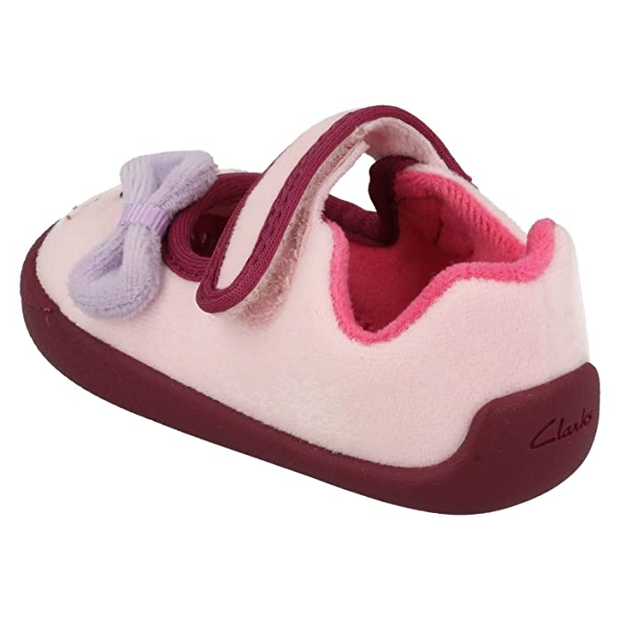 Clarks ShiloCandy Binkies Girls First Slippers: Amazon.co.uk: Shoes & Bags