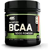 Optimum Nutrition (ON) Instantized BCAA 5000 mg Powder - 380 g (Fruit Punch)