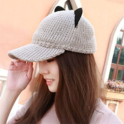 Novia novio regalos de vacacionesNovia novio regalos de vacaciones La mujer  teje una gorra de béisbol 726cd5bb729