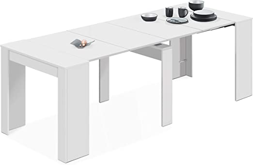 Habitdesign 004580BO - Mesa de comedor extensible - Amazon.es