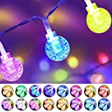 Cosumina Indoor String Light Battery Powered Twinkle Lights with Remote for Bedroom Wedding Garden Party Decorative Lighting