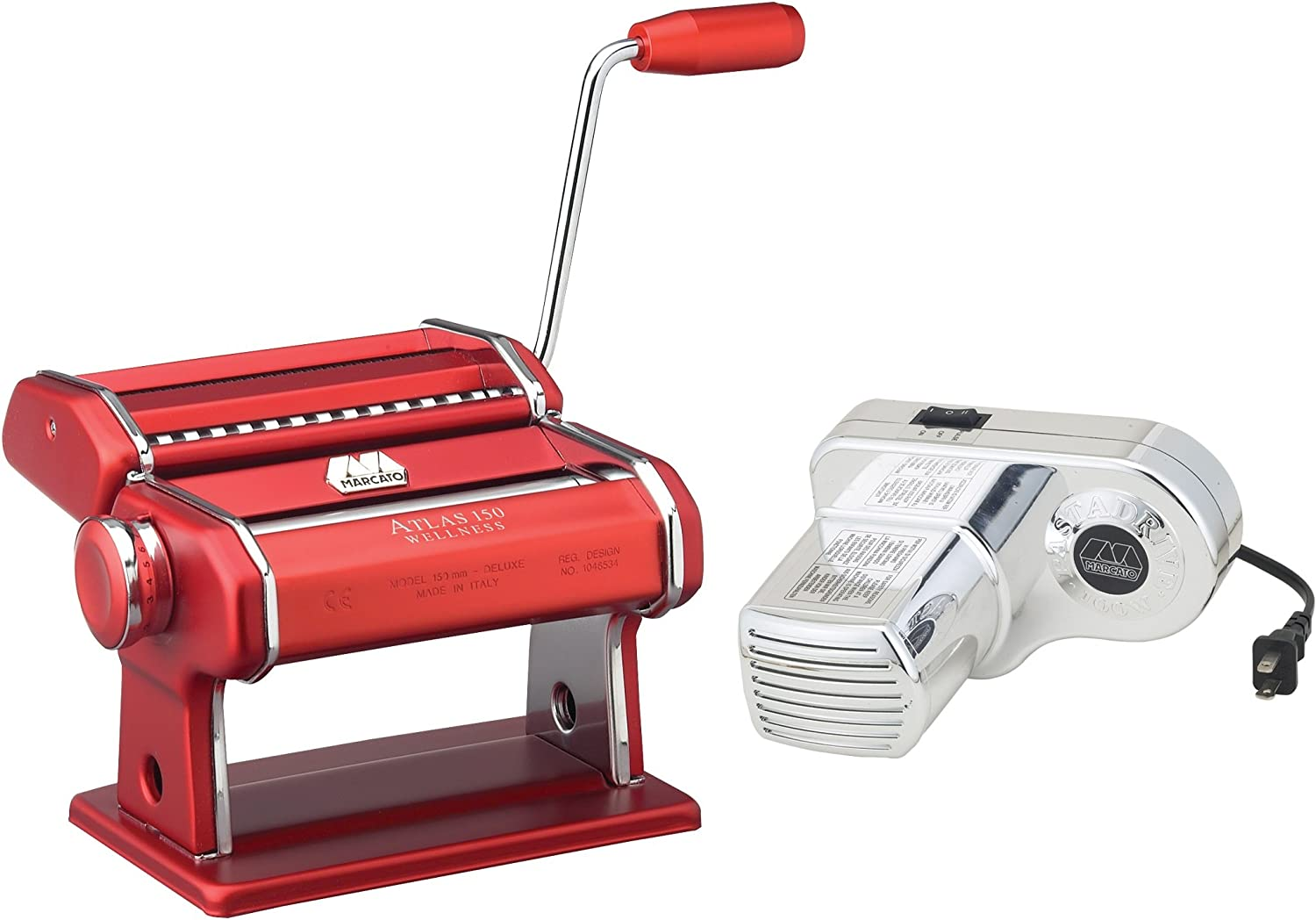 Atlas Electric Pasta Machine (Red) 71-sHgsA5XLSL1500_