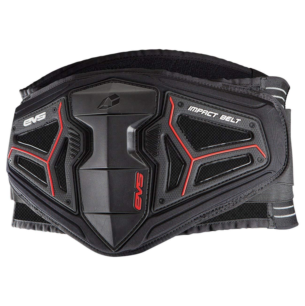 EVS Sports Men's Kidney Belt (BB04 Impact) (Black, Small)