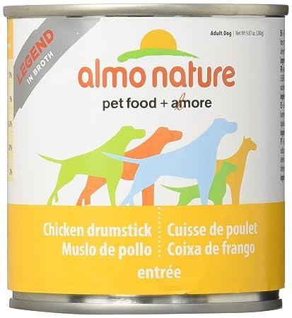 Almo 9.87 Oz Legend Chicken Drumsticks Canned Dog Food 12 Case , Medium