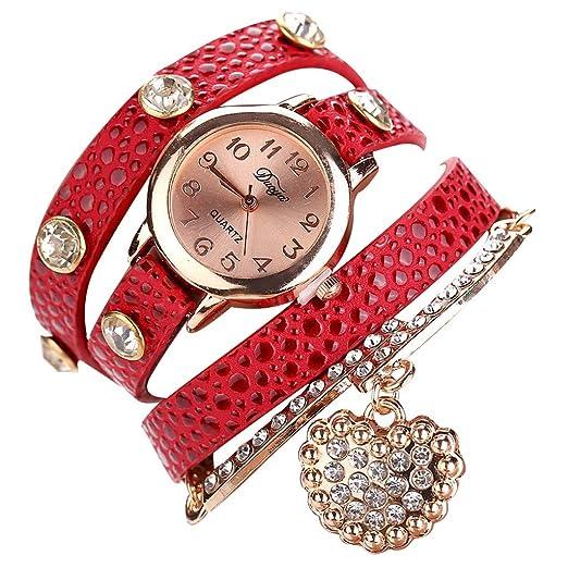 3b3214fe0 Realde Mujer Reloj De Pulsera Minimalista Reloj De Escala Gigital Relojes  Analógicos De Cuarzo Reloj Pulsera