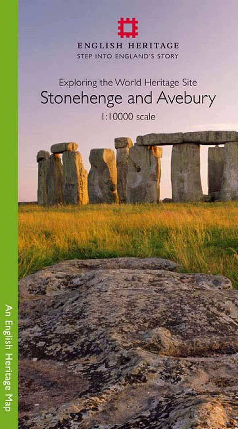 Stonehenge and Avebury 1:10000 Map (English Heritage Maps)
