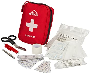 McKinley Sani de Bas Kit de premier secours, rouge, One Size: Amazon.es: Deportes y aire libre