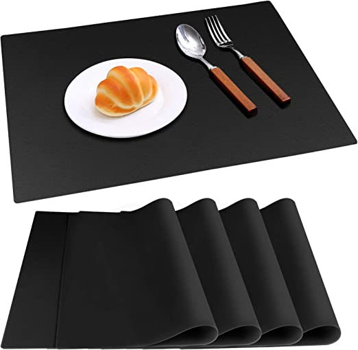 Amazon Com Ivyoung Large Reusable Silicone Placemats For Dining