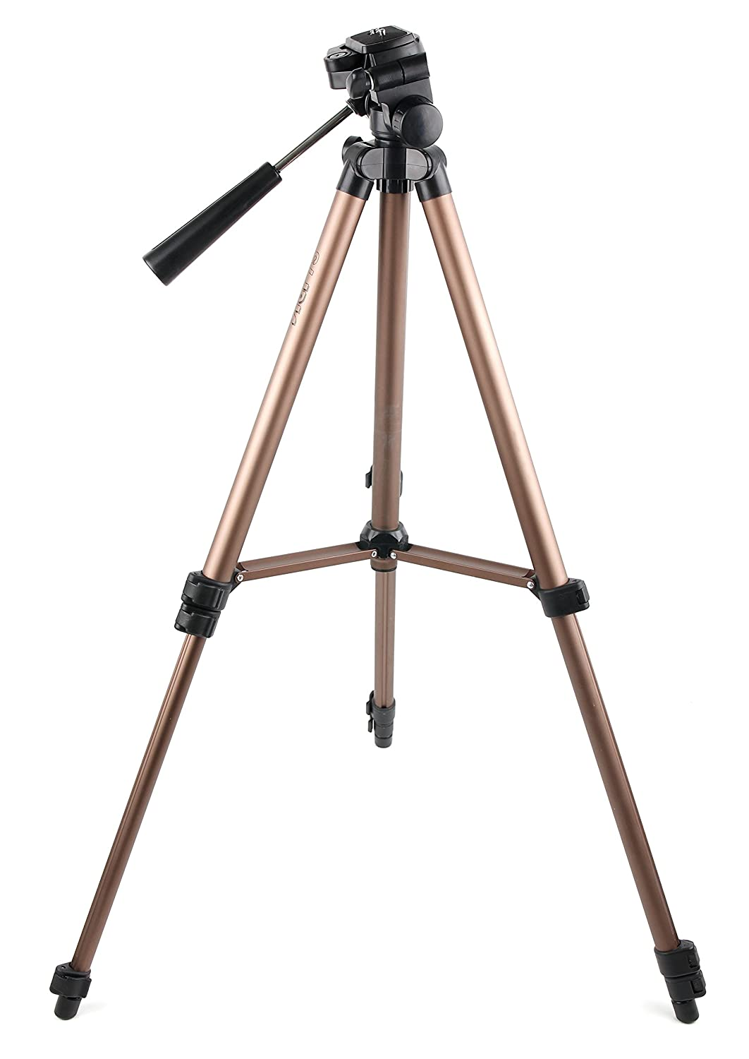 DURAGADGET Black & Gold Tripod with Extendable Legs & Ball-Tilt Head (Binocular Adaptor Required) for Nikon Aculon A211 10-22x50 | 10x42 | 10x50 | 12x50 | 7x35 | 7x50 | 8-18x42 | 8x42 Binoculars 5057234873004