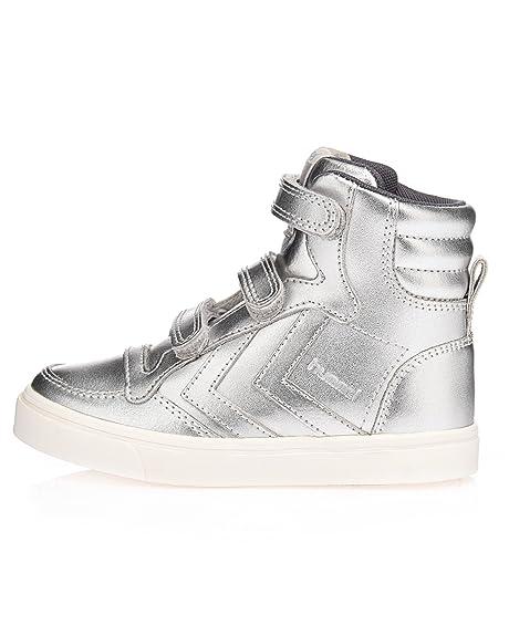 Hummel - Zapatillas para Mujer, Color Plateado, Talla 31: Amazon.es: Zapatos y complementos