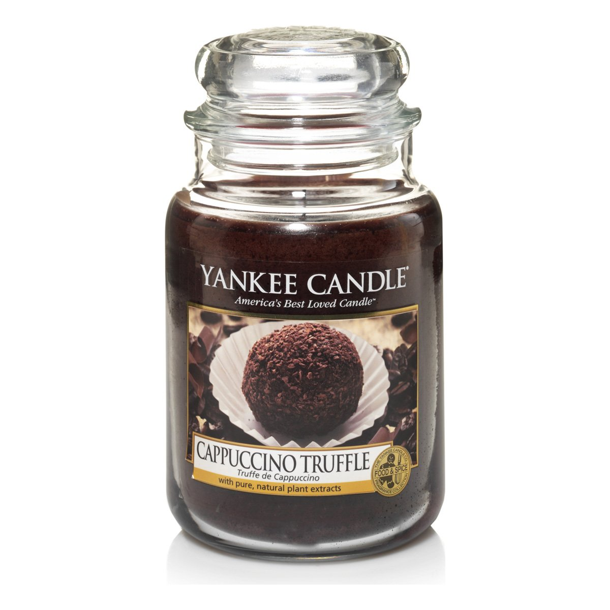 Yankee Candles Large Jar Candle - Cappuccino Truffle
