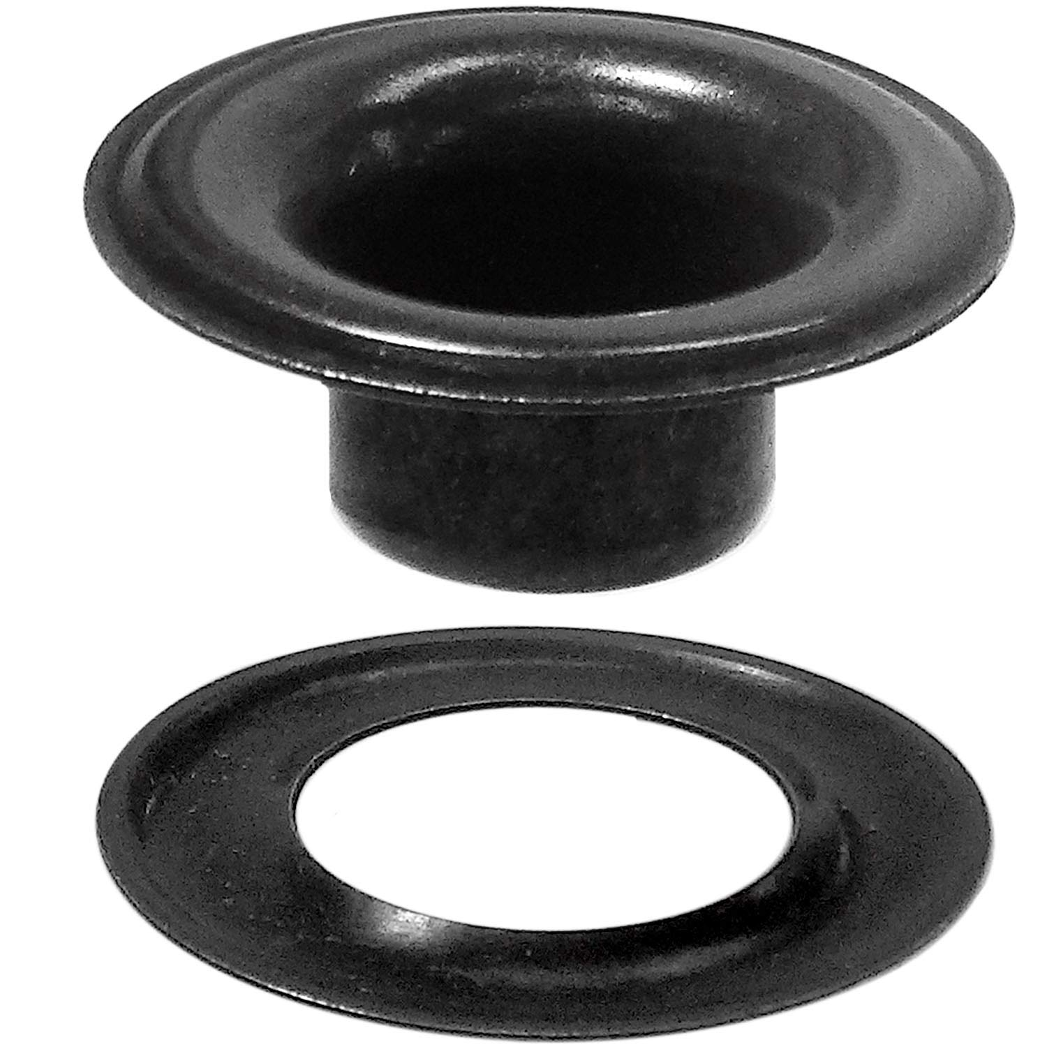 Stimpson Sheet Metal Grommet and Washer Dull Black Chem Durable, Reliable, Heavy-Duty #6 Set (144 pieces of each) by Stimpson Co., Inc. (Image #1)