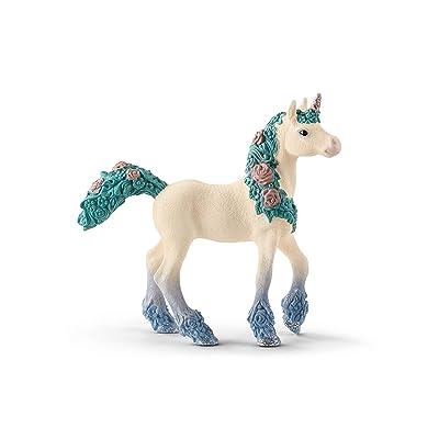 SCHLEICH Flower Unicorn Foal (70591): Toys & Games