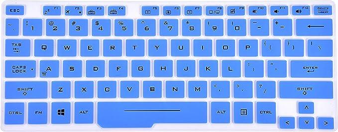 Ultra Thin Keyboard Skin Cover for 14 ASUS ROG Zephyrus G14 G14 GA401 Gaming Laptop Leze TPU