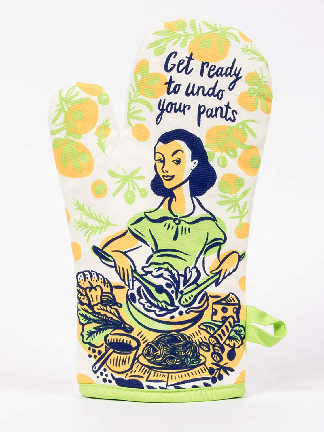 Blue Q Undo Your Pants Oven Mitt