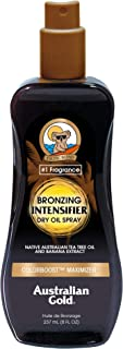 product image for Australian Gold Bronzing Intensifier Dry Oil Spray, 8 Ounce   Colorboost Maximizer