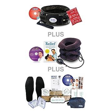 Amazon com: DR-HO'S 2-in-1 Back Decompression Belt