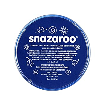 Amazoncom Snazaroo Classic Face Paint 18ml Dark Blue