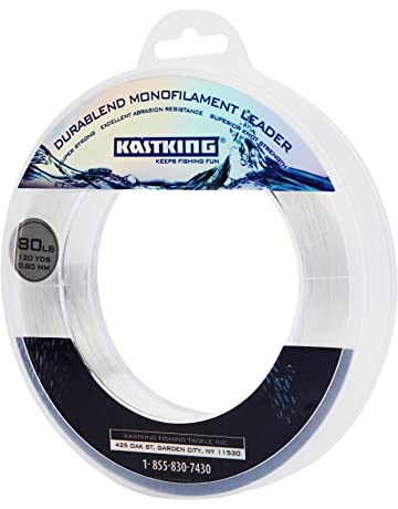 b3288617088 KastKing DuraBlend Monofilament Leader Line - Premium Saltwater Mono Leader  Materials - Big Game Spool Size