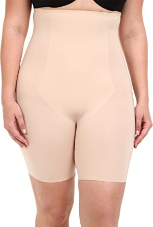 c2ec24946f SPANX Women s Plus Size Thinstincts High-Waisted Mid-Thigh Short at Amazon  Women s Clothing store