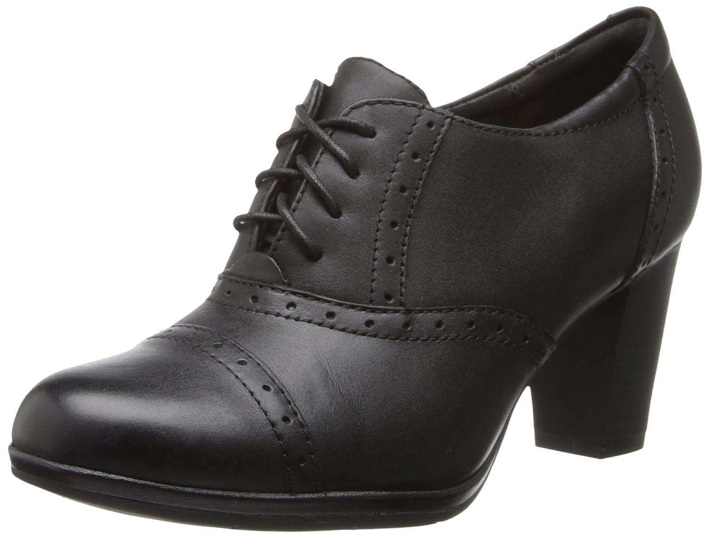 e0fd411df0b4d Amazon.com | CLARKS Women's Brynn Marina, Black Leather, 6 M US | Oxfords