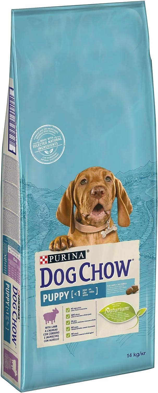 Purina Dog Chow Puppy pienso para Perro Cachorro Cordero 14 Kg