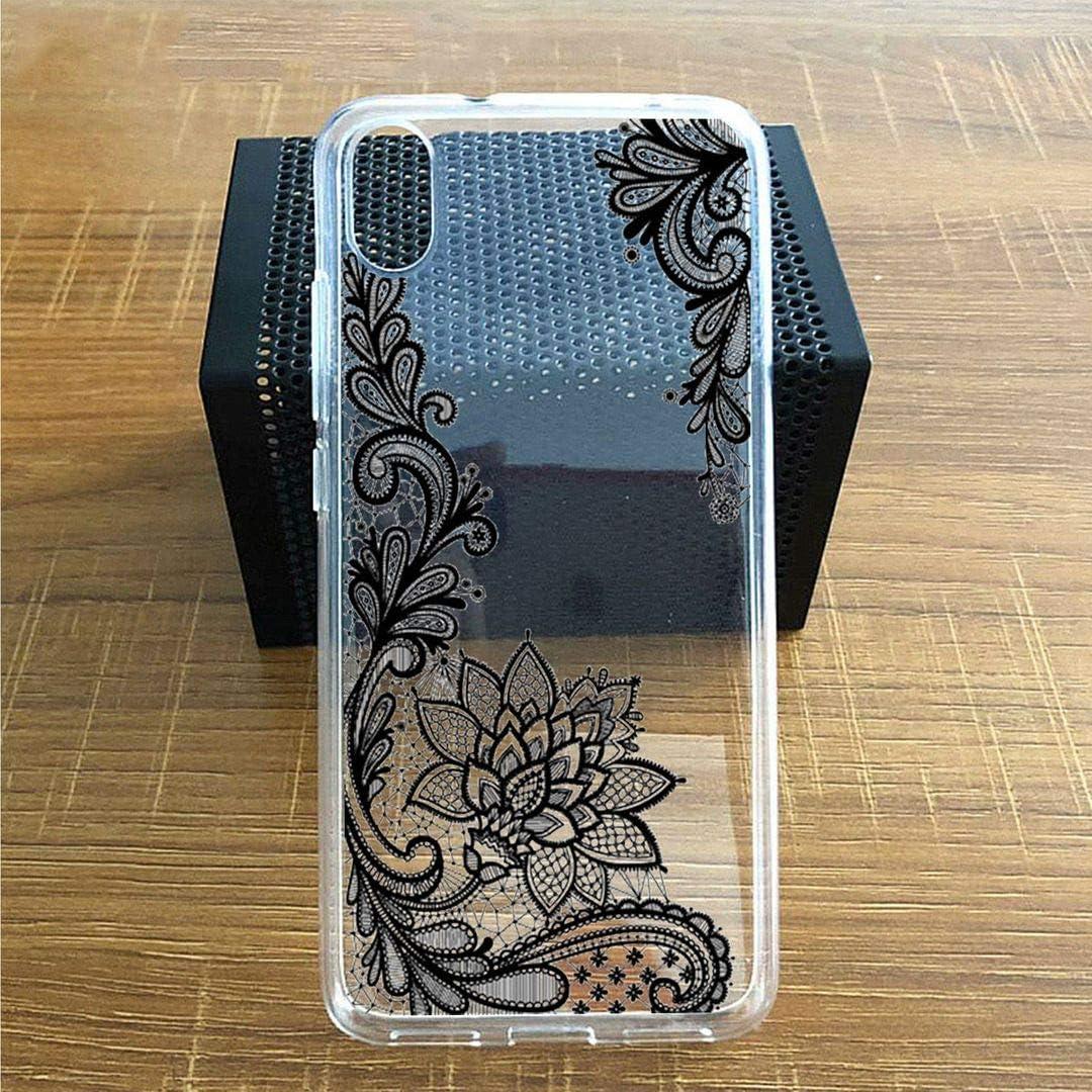 WM108 Transparent Souple Silicone /Étui Protection Housse TPU Case Cover pour Verre tremp/é /écran Film Protecteur 5.5 LJSM Coque pour ASUS Zenfone Live L2 ZA550KL