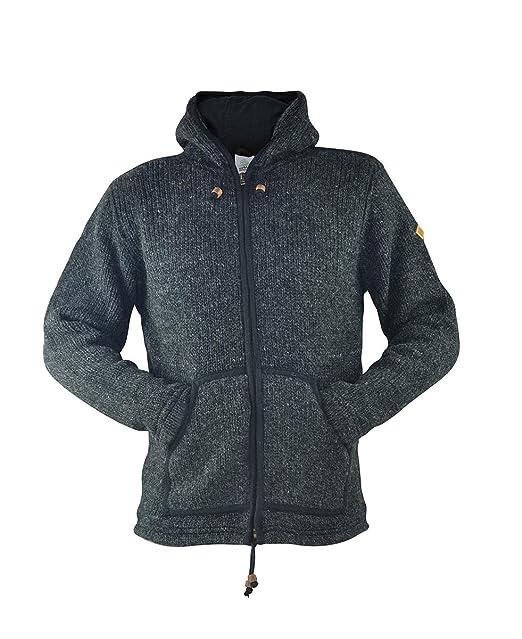 virblatt chaqueta de lana hombre en tallas M, L, XL ...