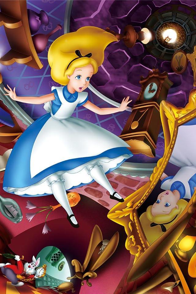 ディズニー ふしぎの国のアリス そこは不思議の国 iPhone(640×960)壁紙 画像58012 スマポ