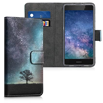 Amazon.com: kwmobile - Funda tipo cartera para Huawei P8 ...