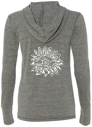 Amazon.com: Yoga ropa para mujer Sketch Lotus sudadera con ...