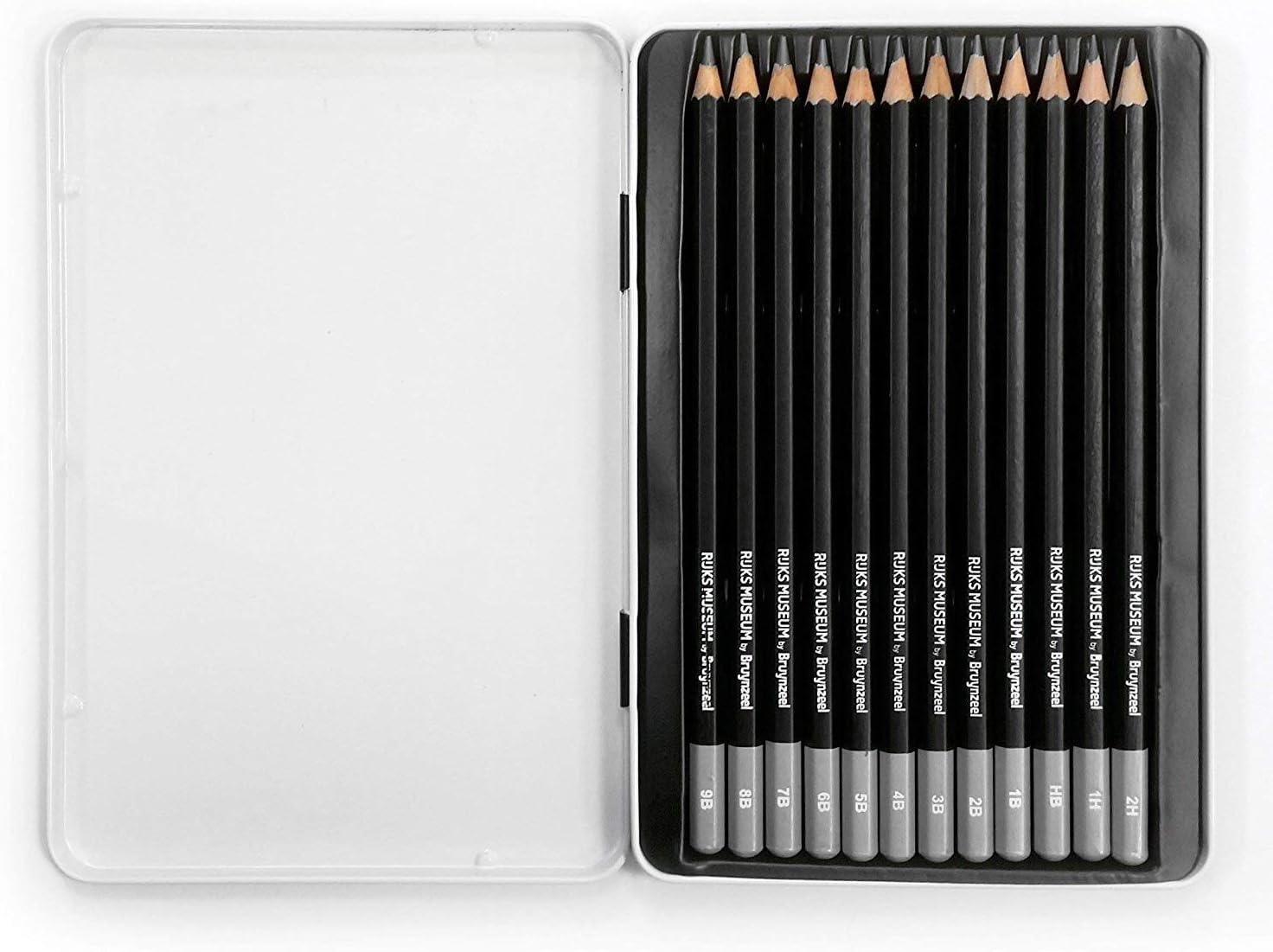 Bruynzeel 2 en 1 Taille-Crayon /& Effaceur