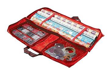 Beau W2360 Garland Christmas Or Birthday Gift Wrap Storage Bag