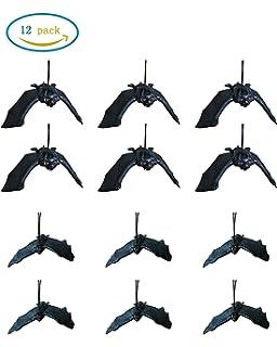 Amazon.com: Fun Express Halloween Hanging Bats - 3 Pieces: Toys ...