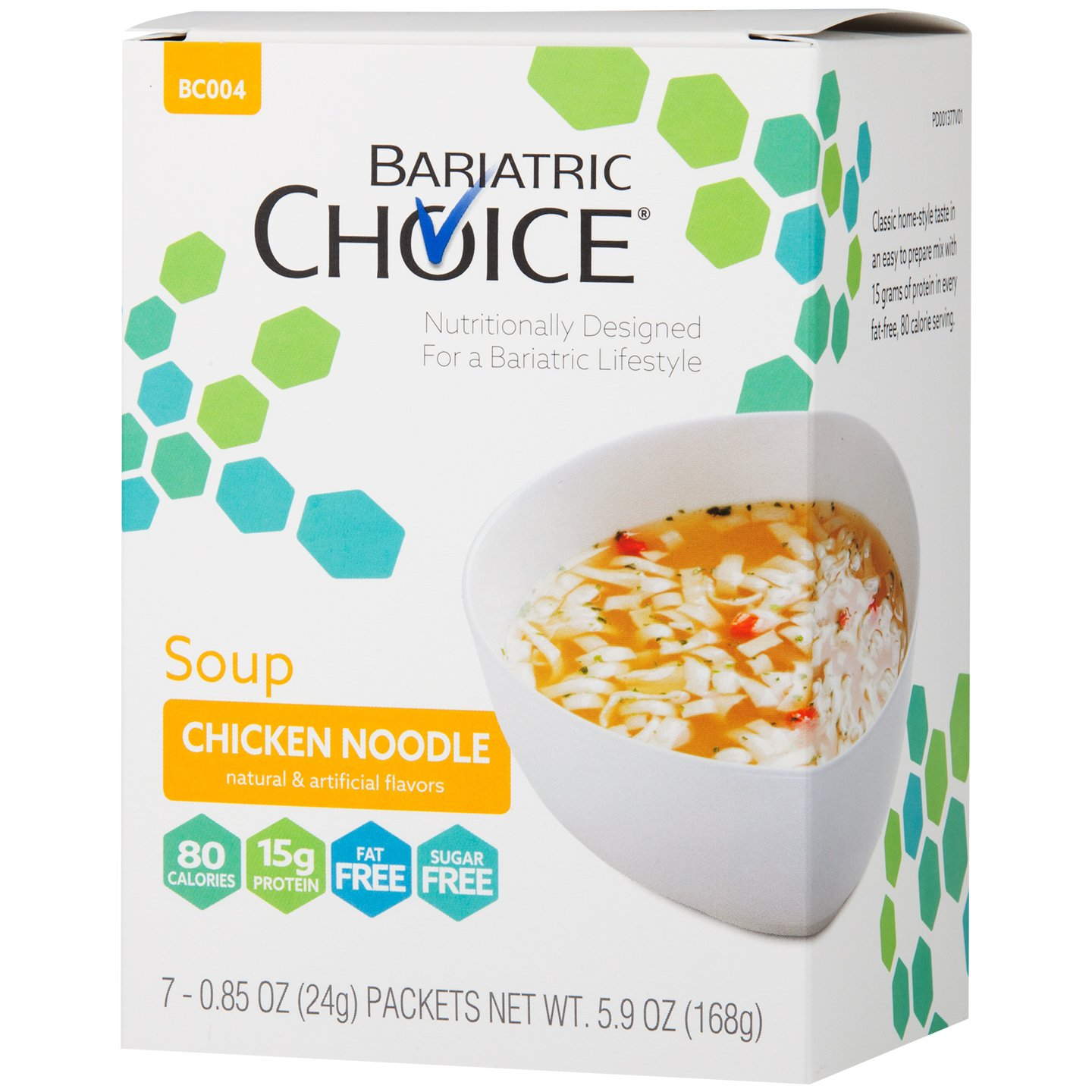 Amazon.com : Bariatric Choice High Protein Soup Mix / Low-Carb Diet ...