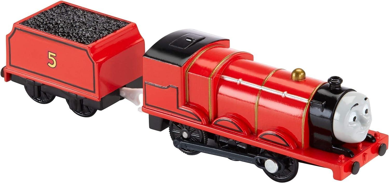 Thomas & Friends - Locomotora motorizada, Personaje Principal James (Mattel BML08)
