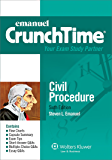 Emanuel CrunchTime for Civil Procedure (Emanuel CrunchTime Series)